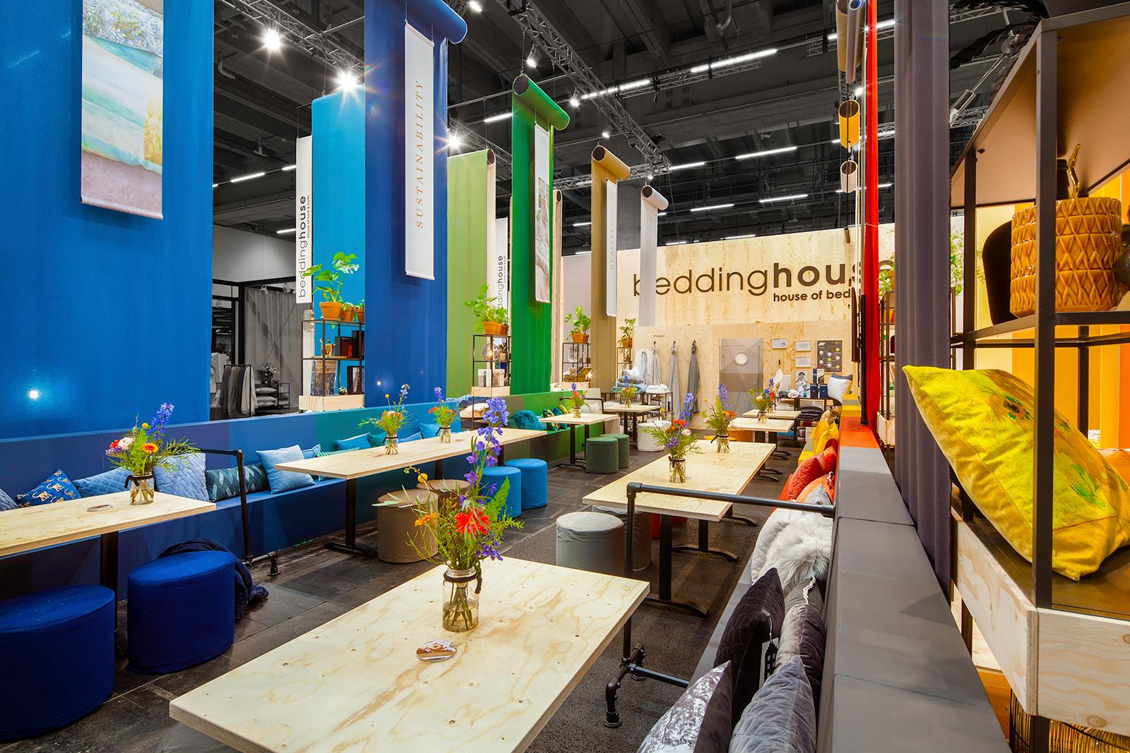 The Inside - Beddinghouse - Heimtextil 2019 - Frankfurt - Standbouwfotografie #4143(lr)